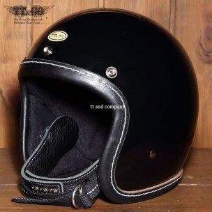 500-TX Leather Trim Shot Style Black Black