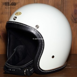 500-TX Leather Trim Shot Style Black Ivory