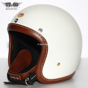 500-TX Leather Rim Shot Hand Sewn Brown Ivory