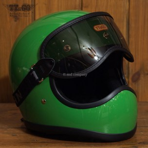 Toecutter Standard Green with Light Smoke Goggles Set
