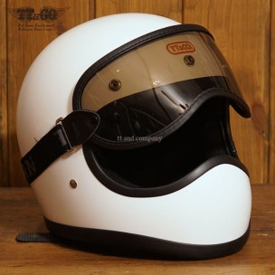 Toecutter Standard White with Light Smoke Goggles Set
